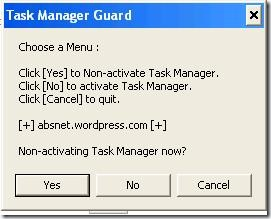 Task Manager Guard